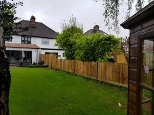 Fence installation by South London Fencing