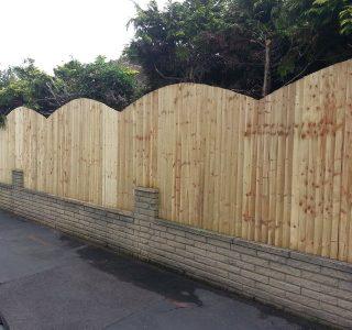 Garden fencing by South London Fencing contractors in London, Surrey and Sussex
