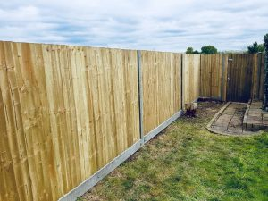 ence installation in Beckenham by South London Fencing